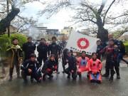 小田原城のお堀をプロダイバーが清掃 市民ボランティア募集も