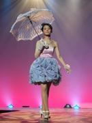 別府溝部学園学生がファッションショー 作品担当者自らウオーキングも