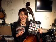 女性だけのジャズユニットがライブツアー 岡山出身のコントラバス奏者も
