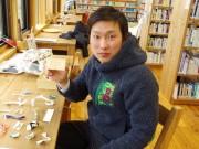 「箸袋で伝える感謝」全国へ 隠岐の若者、日本一周の旅に出発