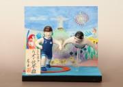 岩槻で人形の東玉「変わり雛」発表会 その年の世相を反映する37年目のイベント