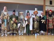 さいたまで与野七福神 市民が仮装、7寺社巡る