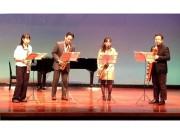 大宮盆栽美術館でサックス四重奏コンサート 盆栽をイメージした楽曲も