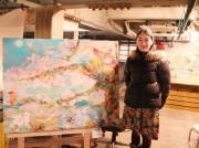 さいたま出身在住の若手画家が地元で初の個展 七福神などモチーフに