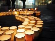 大宮で「さいたまキャンドルナイト」 復興祈り、地元アーティストのライブも