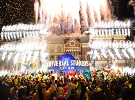 USJで「やり過ぎ限界突破」開幕 第1弾はドラクエ、ハリポタ新ナイトショーも