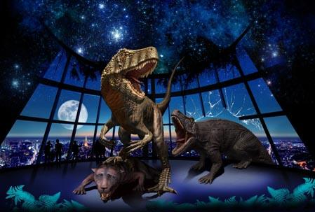 六本木ヒルズで「最古の恐竜展 ...