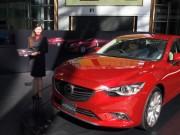ミッドタウンでマツダ新型車「アテンザ」2タイプを国内初展示