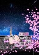 東京プリンスホテルでプロジェクションマッピング 「感謝」して休業