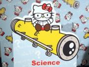 六本木で「サイエンス×ハローキティ」発表会 キティが「世界一ノーベル賞を獲らせる男」とコラボ