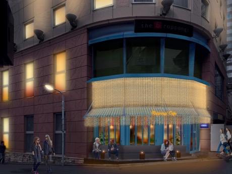 六本木に朝5時まで営業する「六本木カフェ」 宇田川カフェがプロデュース