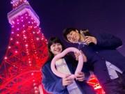 東京タワーでバレンタイン企画 外階段開放、特別ライトアップも