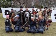 「名古屋おもてなし武将隊」信長、清正が卒業 名古屋城で出立式