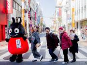 三軒茶屋で広島グルメイベント ゆるキャラのそぞろ歩きや生演奏も