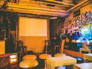 池尻のコーヒー店で短編映画 「早稲田映画まつり」ノミネート作品上映