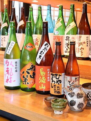 三軒茶屋経済新聞「名誉きき酒師」厳選の地酒を用意