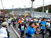 宮古で「サーモン・ハーフマラソン大会」-3千人が新コースなどで健脚競う