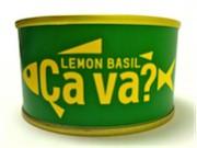 三陸サバ使った「サヴァ缶」にレモンバジル味 デザインは緑と黄色のツートン