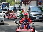 札幌でリアル「マリオカート」集団話題に-ミニカートに乗り神出鬼没