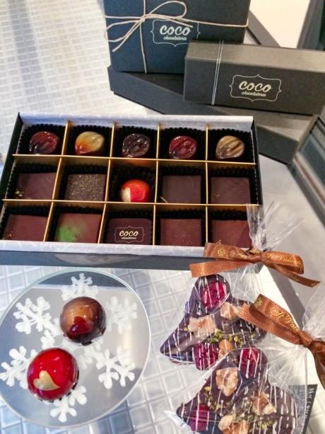 「ショコラトリーココ」のバレンタインギフト