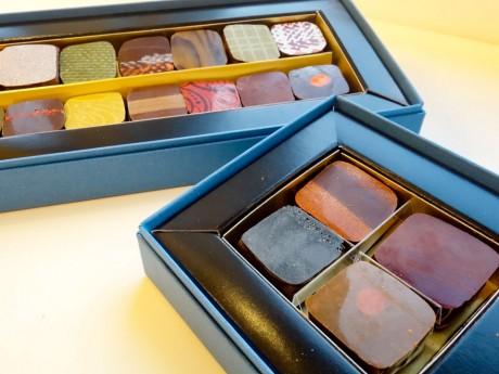 「ドゥブルベボレロ」のチョコレート