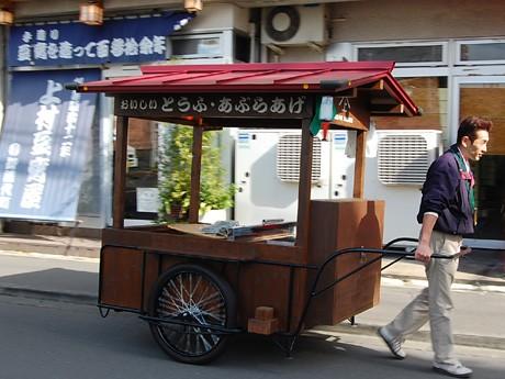 仙台・創業130年の老舗豆腐店がリヤカー引き売り−「地域に恩返しを」