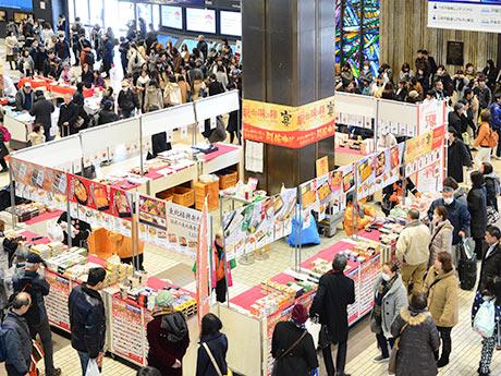 仙台駅で冬の「駅弁まつり」 「駅弁味の陣」受賞商品など100種類