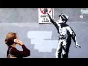 渋谷で英覆面アーティスト・バンクシーさん実録映画 NYでの1カ月路上展示追う