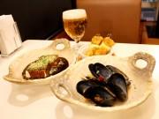 新橋のカレー専門店「みぼうじんカレー」が夜メニュー らまんちゃムール貝の白ワイン蒸しなど
