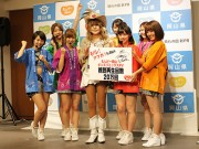 新橋で岡山県のPRダンス初披露 アイドル考案の振り付けも