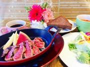 ランチタイムに歓送迎会 新橋の洋食店が限定コース料理