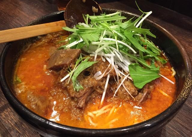 新橋の「つけ麺 隅田」が冬限定メニュー「和牛麺」 牛角煮にこだわり
