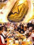 """""""これからおいしい""""春のカキを堪能-「広島春牡蠣フェスタ2015」歌舞伎町で開催中"""