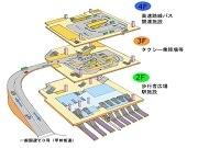 「バスタ新宿」4月開業へ 新宿駅直結、バスの乗り換えがスムーズに