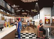 高田馬場にケンタッキー新業態 昼はカフェ、夜はバルスタイルに