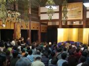 鎌倉光明寺で春風亭一之輔さん独演会 サンダル履きで行ける距離で一流の芸を