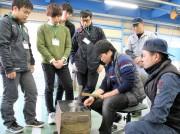 下松で大学生が産業観光提案 2泊3日で鉄道列車製造企業見学