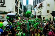 シンガポールで「St Patrick's Day Festival」