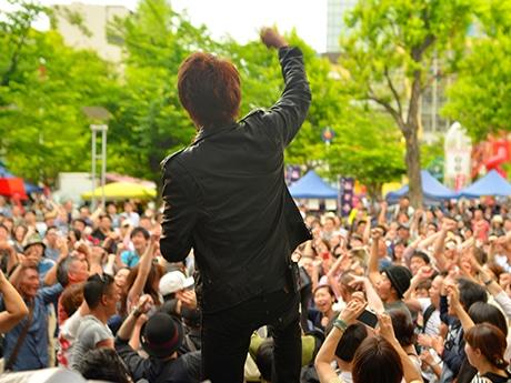 フード&音楽フェス「ニクオン」、今年も錦糸公園で開催決定