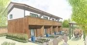立川に「畑付き」エコアパート-太陽光発電も完備