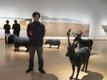 小平市在住の井原宏蕗さんが岡本太郎現代芸術賞で敏子賞