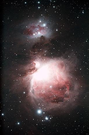 高崎の一番高い場所で「星を観る会」 オリオン大星雲やスバル
