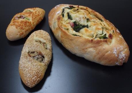 高崎・デパ地下ベーカリーが「春野菜のパン」一足先に春の香り