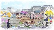天神で震災後の福島県を描くアニメ上映 ディーン・フジオカさんのメッセージも