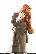 天神ロフトでファッションドール「momoko DOLL」イベント 「二〇加煎餅」とコラボ