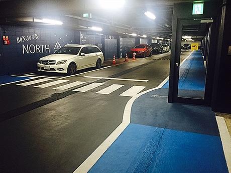 天神地下街の駐車場が新装 開業以来の全面改装で
