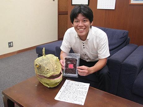 徳島産の生ノリ、ウミイグアナを救う 日本初の飼育展示支える