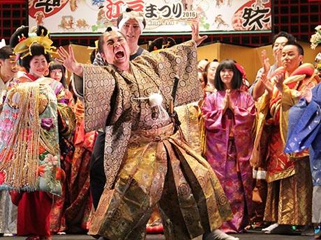 羽田空港で「新春はねだ江戸まつり」 江戸時代初期を舞台に