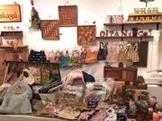 立山町の旧中学校舎で「ホームマーケット」 クラフト作品やフード販売、フリマ出店も