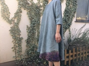 富山のギャラリーカフェで染め物展 新作など150点超展示